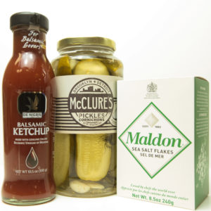 Alex Farm Humbertown Gourmet Cheese and Foods Etobicoke-Ketchup Pickles Crackers